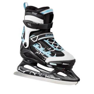 Rollerblade Comet XT Ice G schwarz weiß hellblau