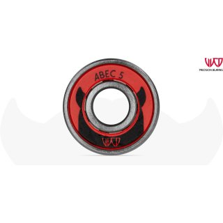 WICKED ABEC 5 Freespin 608 12 pack