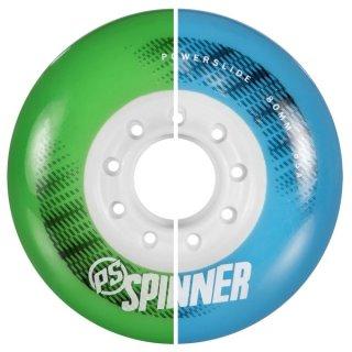 Powerslide Spinner Wheels 80mm 85A 4pack grün