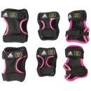 Rollerblade Skate Gear JR 3 Pack black / pink