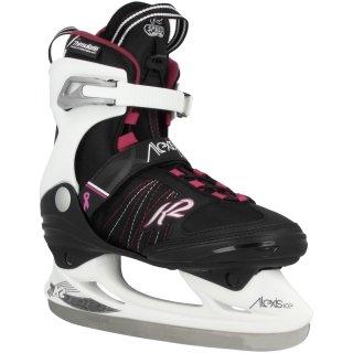 K2 Alexis Ice Pro W  schwarz bordeauxrot