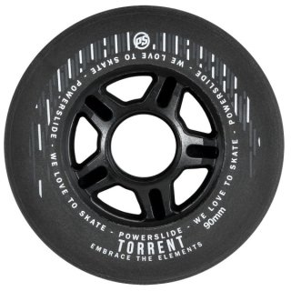 Powerslide Torrent ( Rain ) Wheels 4er Pack Black 90mm 84A