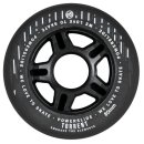 Powerslide Torrent ( Rain ) Wheels 4er Pack Black 80mm 84A