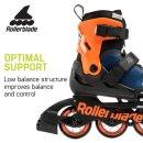 Rollerblade Microblade blau nacht/orange
