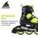 Rollerblade Microblade SE neon gelb/schwarz
