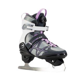 K2 Alexis Ice Boa FB schwarz weiß lila