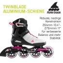 Rollerblade Sirio 90W grau rosa