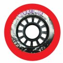 Powerslide Hurricane Wheels Red 4er Pack 72mm