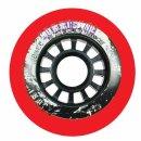Powerslide Hurricane Wheels Red 4er Pack 76mm