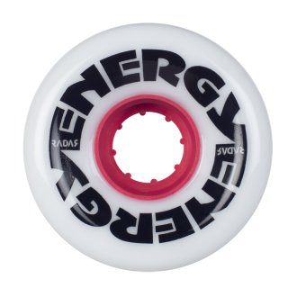 Riedell Radar Energy Wheels 62mm78a White 4er Pack