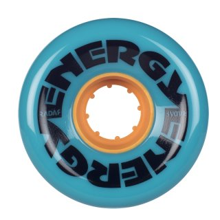 Riedell Radar Energy Wheels 62mm78A Teal 4er Pack