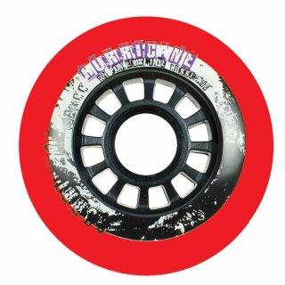 Powerslide Hurricane Wheels Red 4er Pack